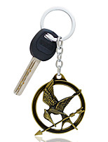 Zinc Alloy Keychain Favors-1 Piece/Set Keychains Classic Theme Non-personalised Green / Gold