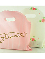 Thickening Hand Lace Bag Garment Plastic Packaging Bag Clothes Shopping Bag Custom Made