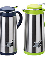 Stainless Steel Coffee Pot Printing Glass Liner Thermos 1.3L