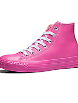 Da donna-Sneakers-Tempo libero / Casual / Sportivo-Punta arrotondata-Piatto-Di pelle-Rosso / Verde chiaro