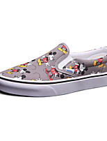 Vans X Disney Slip-On Men's Shoes Animal Print Canvas Outdoor / Athletic / Casual Sneakers Indoor Court