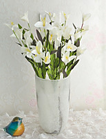 Hi-Q 1Pc Decorative Flower Lilies Flower Wedding Home Table Decoration Artificial Flowers