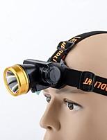 Eclairage de Velo Lampes Frontales LED Transport Pratique 180 Lumens USB Autres NoirCamping/Randonnée/Spéléologie / Usage quotidien /