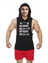 Running Tops / Vest / Hoodie / Shirt / Sweatshirt / Tank Men's SleevelessBreathable / Sweat-wicking / Softness