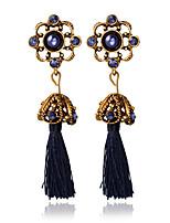 1pair/dark BlueStud Earrings forWomen