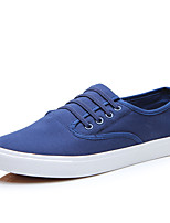 Men's Sneakers Amir New Fashion Comfort / Flats Canvas Casual Flat Heel Slip-on Black / Blue /White /Red Walking