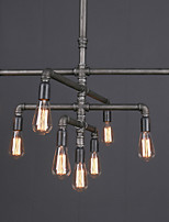 Loft Industial Traditional Vintage Water Pipe Pendant Lamp Fit for the Foyer / Living Room / Bedroom Chandelier Light