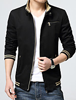 2016 spring and autumn with young men's jacket slim coat thin casual jacket collar solid tide