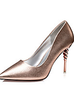 Women's Shoes  Fall Heels / Pointed Toe / Closed Toe Clogs & Mules Dress Stiletto Heel Others Black / Brown / Champagne