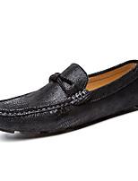 Heren Platte schoenen Lente / Zomer / Herfst / Winter Gepunte neus / Platte schoenen VarkensleerHuwelijk / Kantoor & Werk / Informeel /
