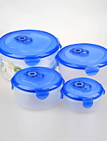 4 pcs Stackable Food Container Set Vacuum Food Containers