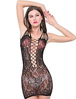 Women Sexy Jacquard Hollow Lace Skirt Uniforms Temptation Black Network Clothing  Lingerie