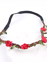 Women's Leather Headpiece-Wedding / Casual Wreaths 1 PieceFlower 54cm