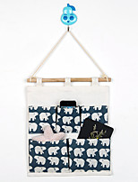 Five Pockets Behind The Door Polar Bear Storage Bag