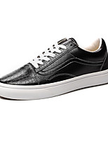 Vans Classics  Alligator Skin Men's Shoes High Canvas Outdoo Round Toe Leather Outdoor / Athletic / Casual Flat Heel