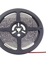 SENCART 5 M 600 3528 SMD Теплый белый / белый Водонепроницаемая / Можно резать / Компонуемый / Подсветка для авто / Самоклеющиеся WГибкие