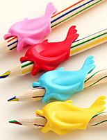 9518 delfines Lápiz de color caramelo de corrección de sílice bolígrafo de gel (color al azar)