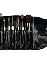 7 Makeup Brushes Set Synthetic Hair Portable Plastic Face Others