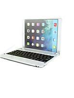 abs plástico caso teclado bluetooth magnética móvel com suporte para o ar ipad