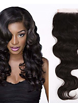 Hot Selling Lace Closures With Baby Hair 4x4inch Lace Closures For Women Brazilian Virgin Hair Lace Closures