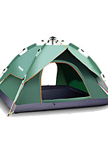 210*240*140CM  Spring Camouflage Outdoor Camping Automatic Double-deck Tent For 3-4 Person 1 Set