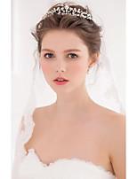 Women's Alloy / Imitation Pearl Headpiece-Wedding / Special Occasion / Casual Tiaras / Hair Tool 1 Piece Silver