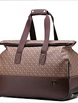 Для женщин Полиуретан На каждый день / Для отдыха на природе Сумка-шоппер / Дорожная сумка