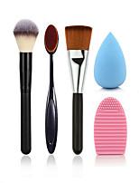 5 Contour Brush / Makeup Brushes Set / Blush Brush / Brow Brush
