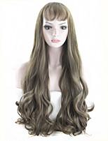 l'arrivée de nouveaux kylie jenner résistant à la chaleur perruque de cheveux cosplay mode perruque synthétique perruque avant de cyan