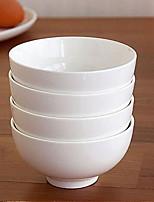porcelaine blanche osseuse bol en porcelaine pur
