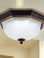 12W LED Flush Mount ,  Modern/Contemporary / Country Painting Feature for Mini Style Metal Living Room / Bedroom / Entry