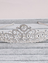 Women's Rhinestone Headpiece-Wedding / Office & Career / Outdoor Tiaras 1 Piece