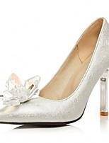 Damen-High Heels-Hochzeit / Büro / Lässig / Party & Festivität / Kleid-Kunststoff / Lackleder / Kunstleder-Stöckelabsatz-Absätze / Pumps