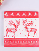 100% virgin pulp 20pcs Reindeers Wedding Napkins