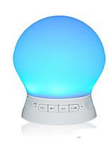 fournitures automobiles sans fil Bluetooth à puce réveil lumière carte bluetooth haut-parleur