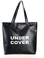 Для женщин Полиуретан На каждый день / Для шоппинга Сумка на плечо / Сумка-шоппер / Сумка для хранения