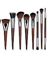 11pcs Amazing Soft Makeup Brushes Professional Cosmetic Make Up Brush Set
