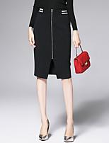 AFOLD® Women's Midi Skirt-6085