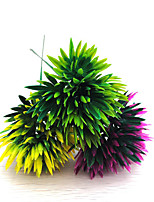 1PC Artificial Flowers Gardening Supplies The Pine Cone Plastic Plants Artificial Flowers