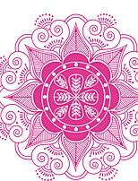 Цветы Наклейки Простые наклейки Декоративные наклейки на стены,Vinyl материал Съемная / Положение регулируется Украшение домаНаклейка на