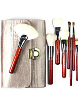 26 Makeup Brushes Set Goat Hair Full Coverage Wood Face ShangYang(Brush Package)