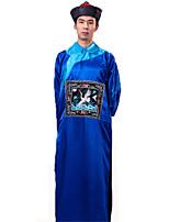 Costumes Zombie Halloween Rouge / Noir / Jaune / Bleu Couleur Pleine Polyester Collant/Combinaison / Chapeau