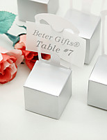 12 Piece/Set Favor Holder - Cuboid Card Paper Gift Boxes Non-personalised Beter Gifts® Wedding Party Décor