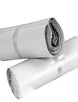 толстые белые курьерские мешки 28 * 42 новый уплотнительный материал деструктивным почта мешок мешки печать заказной логистики