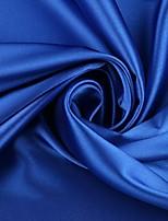 Темно-синий / Светло-розовый Стреч-сатин