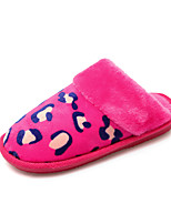 Women's Slippers & Flip-Flops Fall / Fashion Boots / Comfort / Slippers / Round Toe / Flats LeatheretteOutdoor /