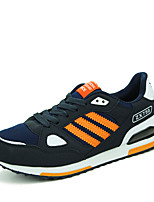 Men's Sneakers Spring / Fall Comfort Tulle Casual Flat Heel  Blue / Yellow / Orange Walking