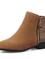 Women's Shoes  Fall / Winter Fashion Boots / Combat Boots / Round Toe Boots Office & Career / Dress / Casual Chunky