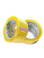 45MM * 13Mm High Viscosity Transparent Sealing Tape Packing Tape (Volume 3 A, Sale of Transparent Yellow 95 Yards)