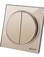 два переключателя единый орган управления, переключатель круглой стенки (монтажное отверстие расстояние: 60 (мм))